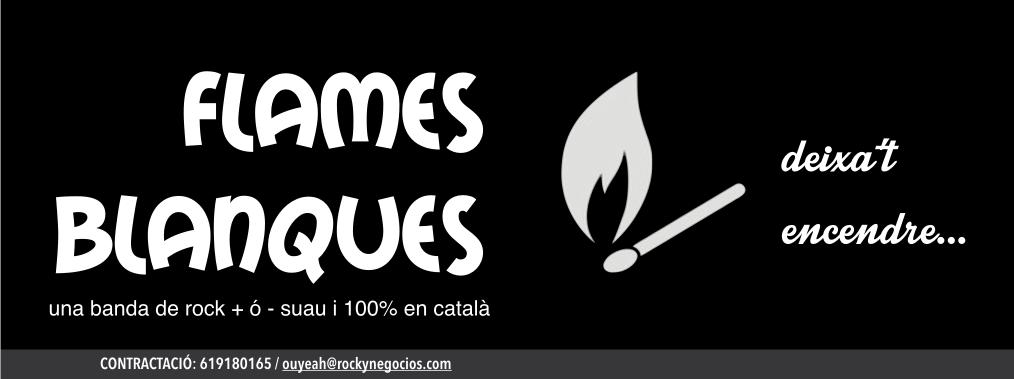 Image Flames Blanques