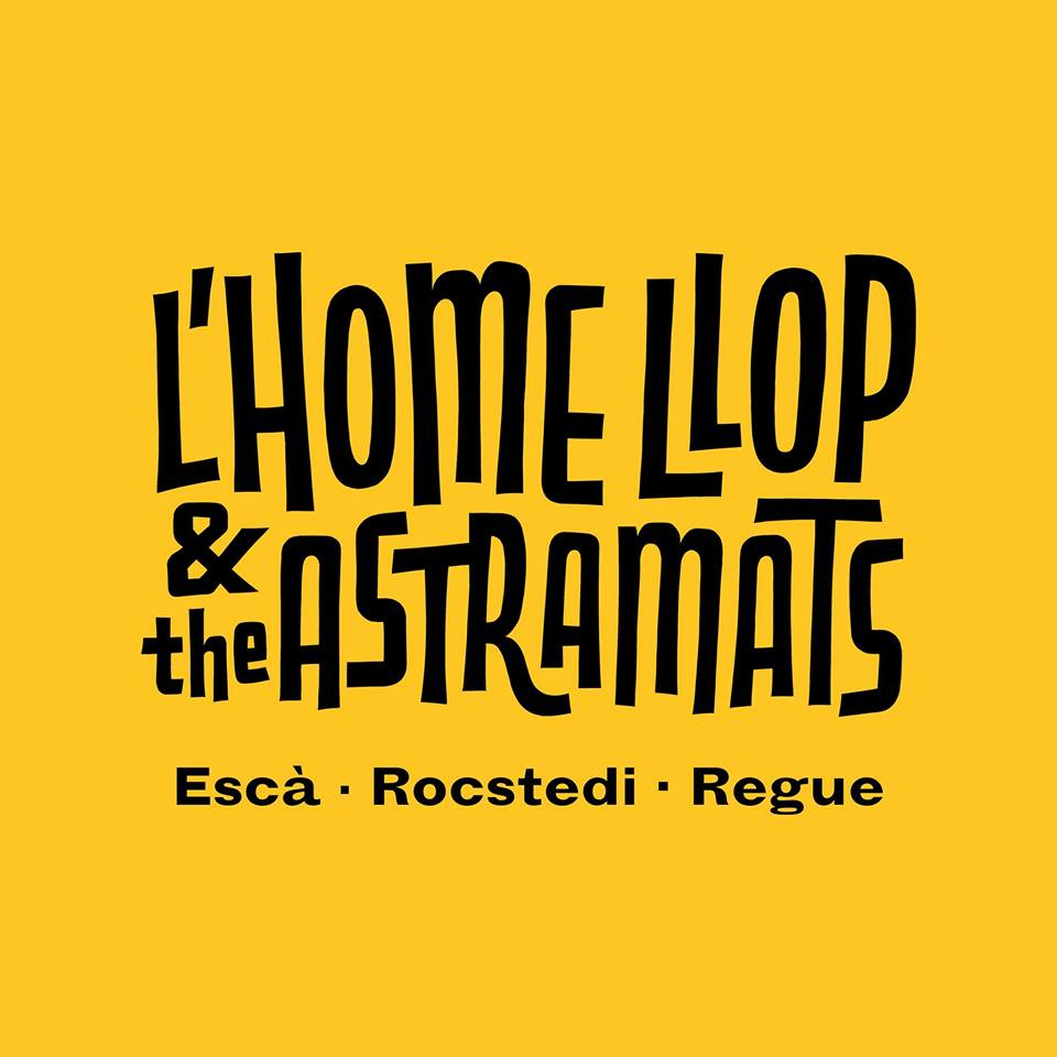 Logo L'Home Llop & The Astramats