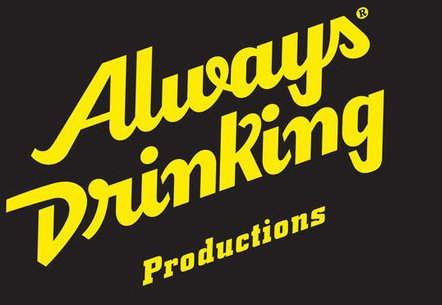 Logo ALWAYS DRINKING PRODUCTIONS