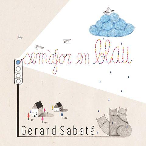 Gerard Sabaté Semàfor en blau